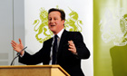 Cameron visits the North West