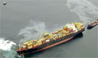 Recovery of oil from stricken ship runing out of time - video