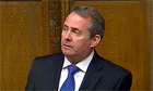 Liam Fox apologises to MPs