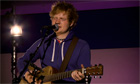 Ed Sheeran live session - How I Wrote Lego House