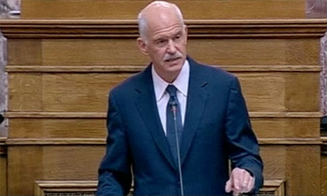 Papandreou: Great burden of the Greek people lessened- video