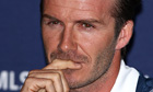 David Beckham reacts to FIFA president Sepp Blatter's racism comments