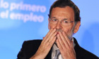 Spanish Prime minister elect Mariano Rajoy of the Popular Party