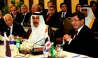 Arab foreign ministers at emergency meeting on Syria