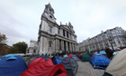 Occupy London Panoramic