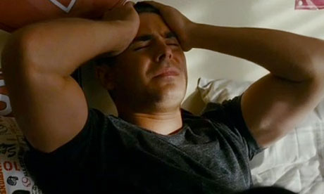 Zac Efron Tattoo In The Lucky One On His Back