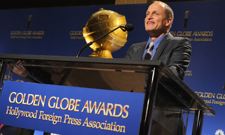 Woody Harrelson at the 69th Annual Golden Globe Awards Nominations