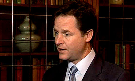 Clegg defending Cameron's use of veto