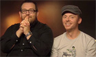 Simon Pegg and Nick Frost introduce an exclusive clip from Paul - video
