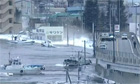 Kamaishi engulfed by tsunami after earthquake rocks Japan - video