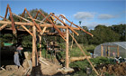 Self-built house in Lammas Eco Village, Pembrokeshire