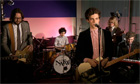 Noah and the Whale live session - How We Wrote Tonight's the Kinda Night - video