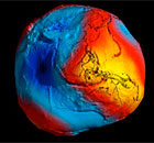 Earth's gravity revealed in unprecedented detail - video