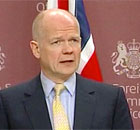 William Hague: a no-fly zone in Libya remains a 'practical possibility' - video