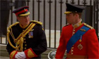 Royal Wedding Video: Princes William and Harry arrive - Video