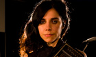 PJ Harvey in the Guardian Studio