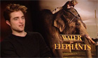 Robert Pattinson, Reese Witherspoon and Christoph Waltz on Water for Elephants - video