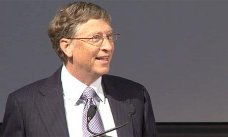 Bill Gates backs more UK aid  - video