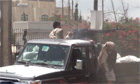 Clashes between tribes and the Yemeni security forces in Yemen- video