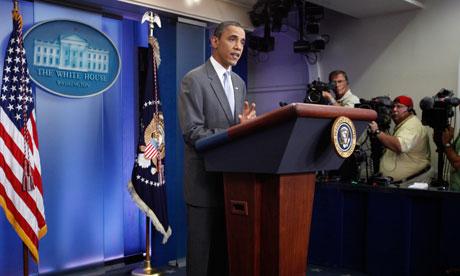 Barack Obama speaks on debt deficit