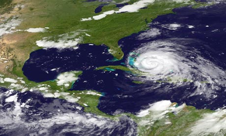National hurricane center gives warning as Irene becomes a major Category 3 storm