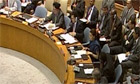 UN security council condemns violence in Syria - video