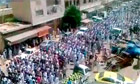 Protests in Hama for live blog - video