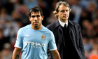 Tevez and Mancini