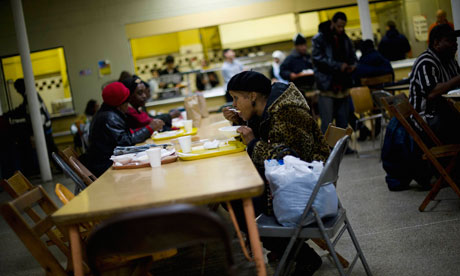 Detroit soup kitchen US p 007 Divided State of America