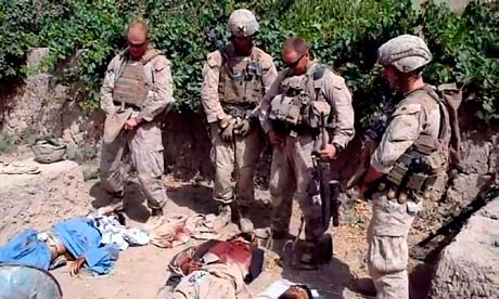 US Military pissing on dead taliban
