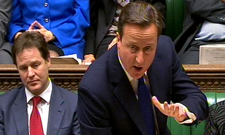 David Cameron speaks about rising unemployment at PMQs
