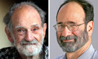 Alvin Roth and Lloyd Shapley, winners of the 2012 Nobel prize for economic sciences
