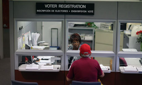 Voter registration, Miami