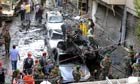 Aftermath of Beirut car bomb