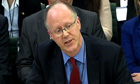 George Entwistle speaks at select committee