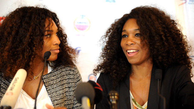 Venus and Serena Williams champion women's rights on Africa tour ...
