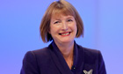 Harriet Harman gives speech at Labour conference