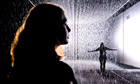 Rain Room, by Random International, at the Curve Gallery, Barbican Art Gallery