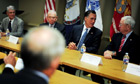 Is Romney's foreign policy a radical departure from Obama's?