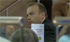 Chris Heaton-Harris MP Conservative party conference 8 October 2012