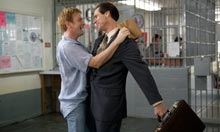 Ewan McGregor and Jim Carrey in a still from I Love You Philip Morris