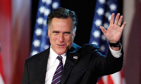 Mitt Romney concedes in Boston