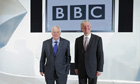 Tony Hall and Lord Patten at the BBC