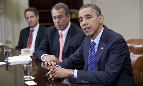 Fiscal cliff: can Barack and Boehner strike a deal?