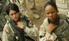US female soldiers