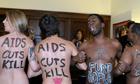 Naked protest, Boehner