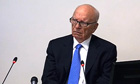 Rupert Murdoch gives evidence at the Leveson Inquiry into press standards at the High Court