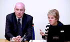 Bob and Sally Dowler give evidence at Leveson inquiry