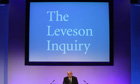 Lord Justice Leveson makes his closing statement