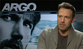 Ben Affleck talking to Catherine Shoard about Argo